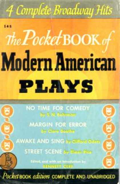Pocket Books - Pocket Book of Modern American Plays