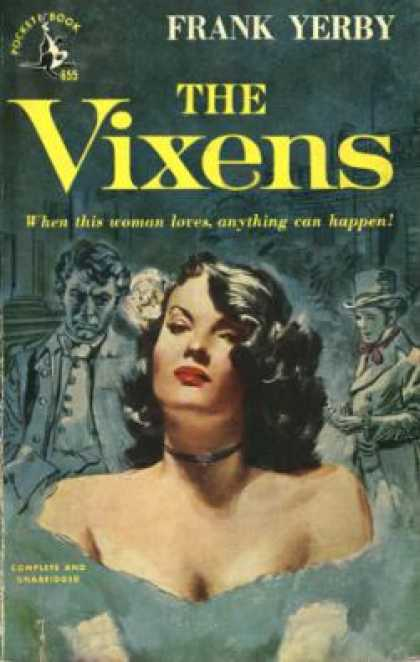 Pocket Books - The Vixens - Frank Yerby