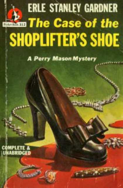 Pocket Books - The Case of the Shoplifters Shoe - Erle Stanley Gardner