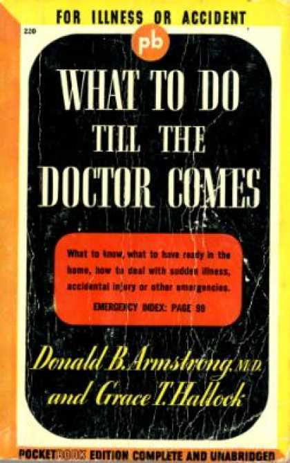Pocket Books - What to Do Till The Doctor Comes