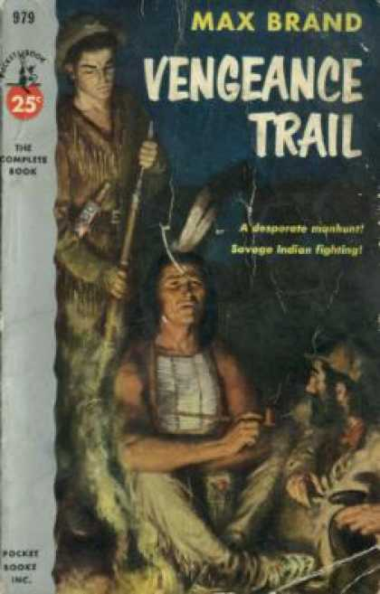 Pocket Books - Vengeance Trail - Max Brand