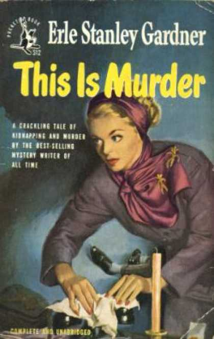 Pocket Books - This Is Murder - Erle Stanley Gardner
