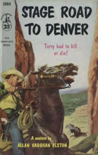 Pocket Books - Stage Road To Denver - Allan V Elston