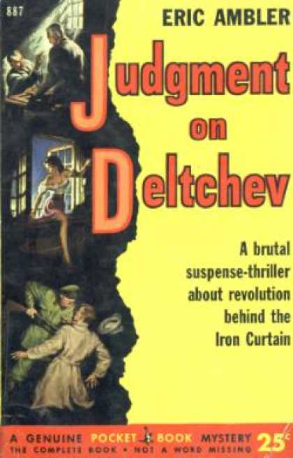 Pocket Books - Judgement On Deltchev - Eric Ambler