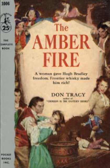 Pocket Books - The amber fire - Don Tracy