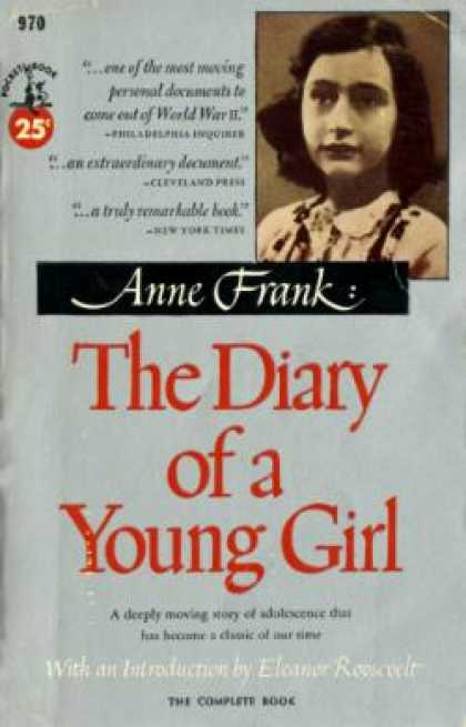 Pocket Books - The Diary of a Young Girl - Anne Frank
