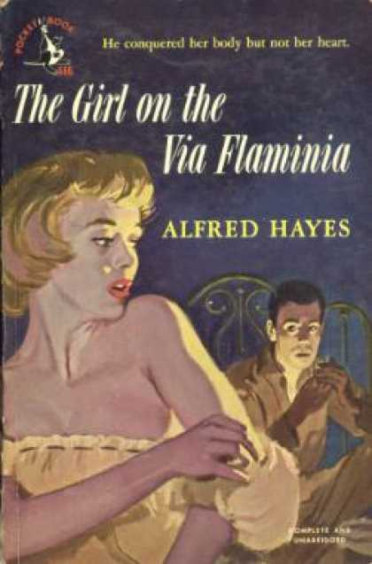Pocket Books - The Girl On the Via Flaminia - Alfred Hayes