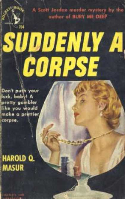 Pocket Books - Suddenly a Corpse - Harold Q Masur