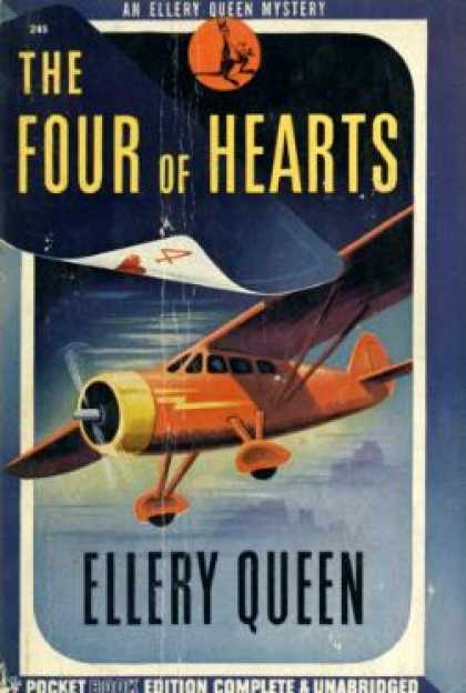 Pocket Books - The Four of Hearts: An Ellery Queen Mystery
