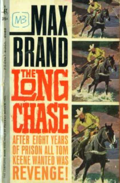 Pocket Books - The Long Chase - Max Brand