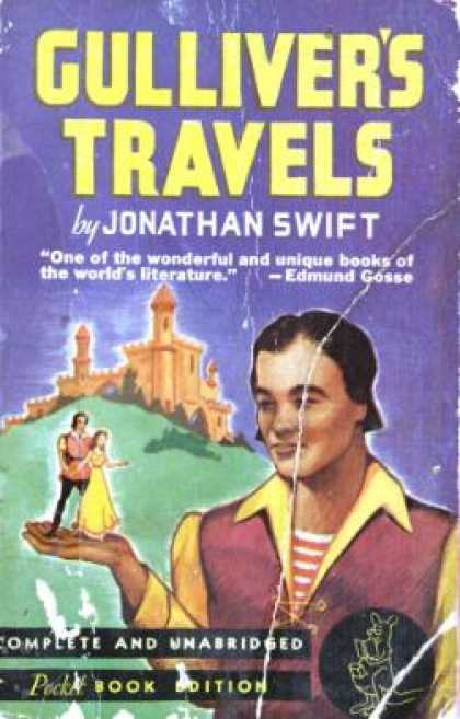 Pocket Books - Gulliver's Travel. Complete and Unabridged. Pocket Book Edition - Jonathan Swift