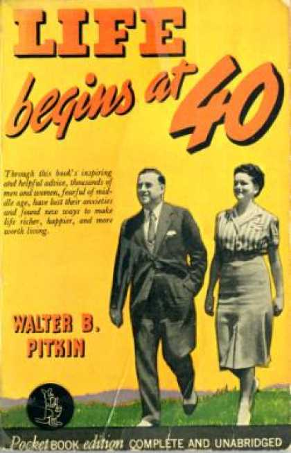 Pocket Books - Life Begins at 40 - Walter B. Pitkin
