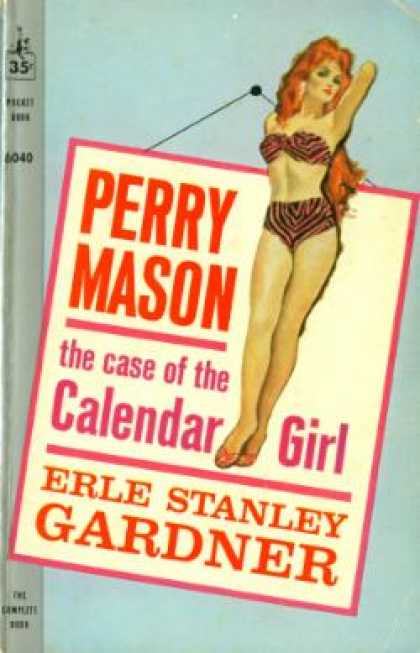Pocket Books - The Case of the Calendar Girl