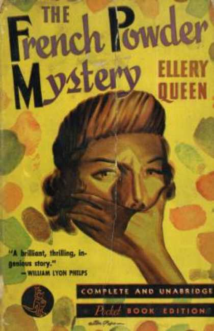 Pocket Books - The French Powder Mystery - Ellery Queen