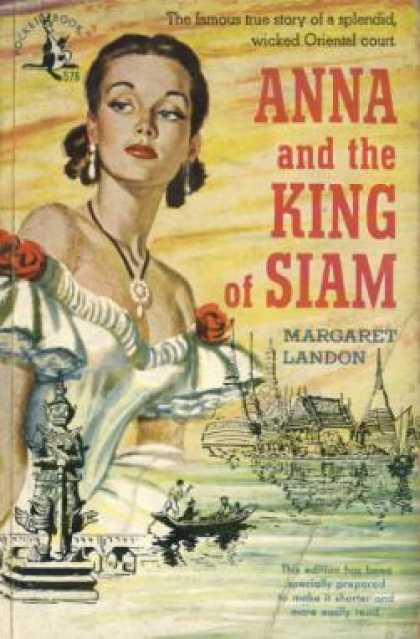 Pocket Books - Anna and the King of Siam - Margaret Landon
