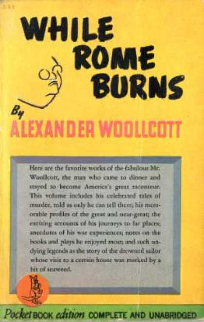 Pocket Books - While Rome Burns - Alexander Woollcott
