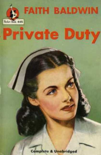 Pocket Books - Private Duty - Faith Baldwin