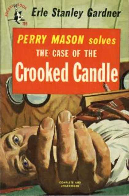 Pocket Books - The Case of the Crooked Candle - Erle Stanley Gardner