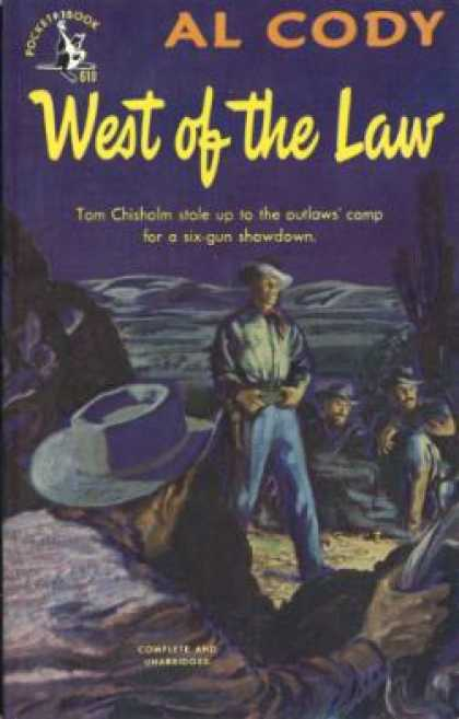 Pocket Books - West of the Law - Al Cody