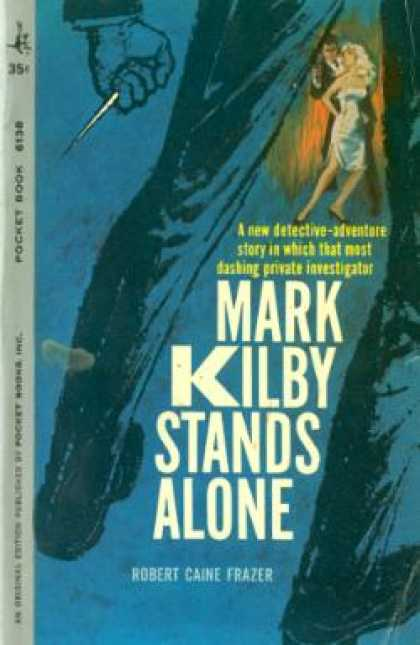 Pocket Books - Mark Kilby Stands Alone - Robert Cane Frazer