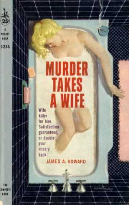 Pocket Books - Murder Takes a Wife - James A. Howard