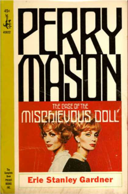 Pocket Books - The Case of the Mischievous Doll - Erle Stanley Gardner