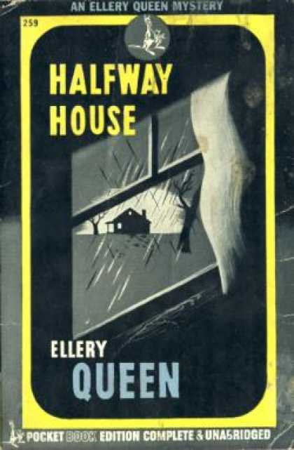 Pocket Books - Halfway House. - Ellery. Queen