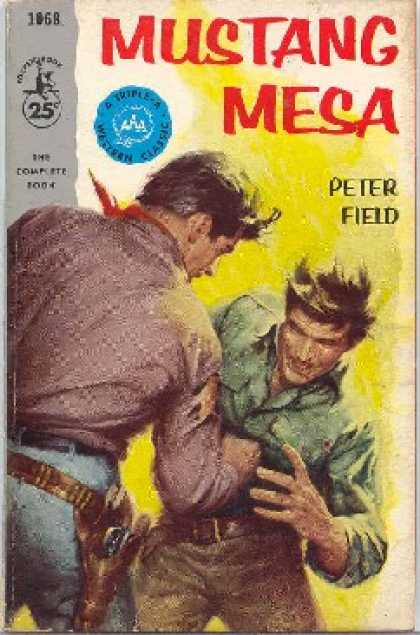 Pocket Books - Mustang Mesa - Peter Field