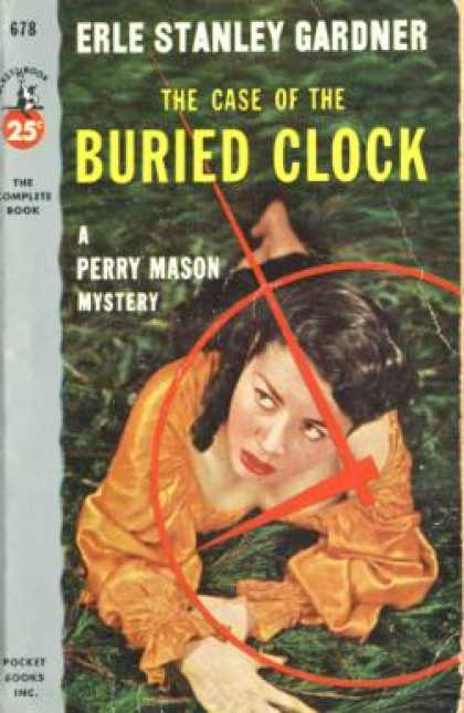 Pocket Books - The Case of the Buried Clock