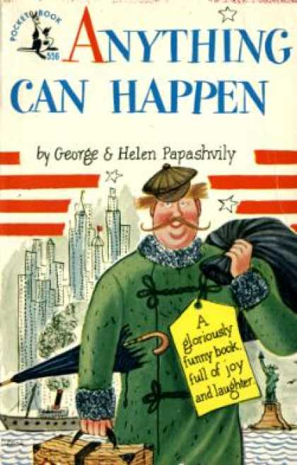 Pocket Books - Anything Can Happen - George Papashvily