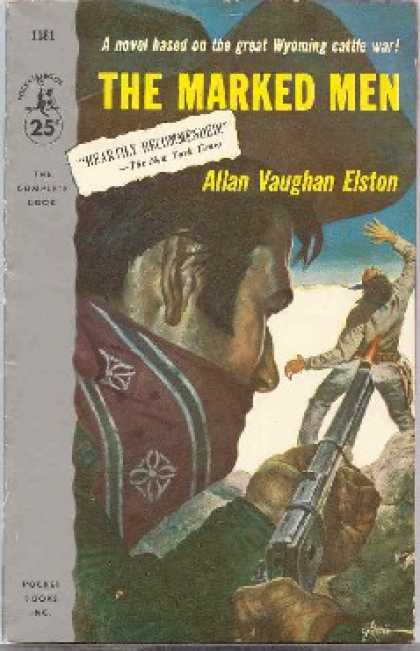 Pocket Books - The Marked Men - Allan Vaughan Elston