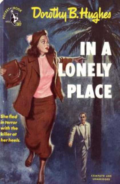 Pocket Books - In a Lonely Place - Dorothy B Hughes