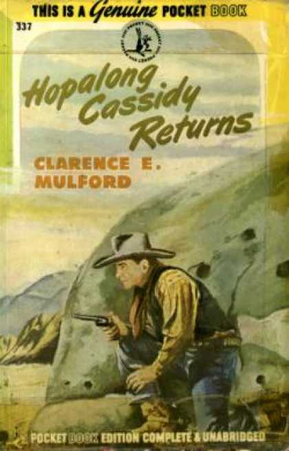 Pocket Books - Hopalong Cassidy Returns - Clarence E. Mulford