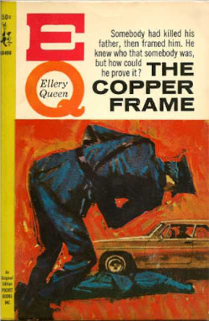 Pocket Books - The Copper Frame - Richard As Queen, Ellery Deming