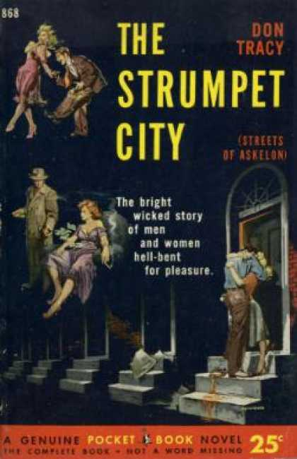 Pocket Books - Strumpet City - Don Tracy