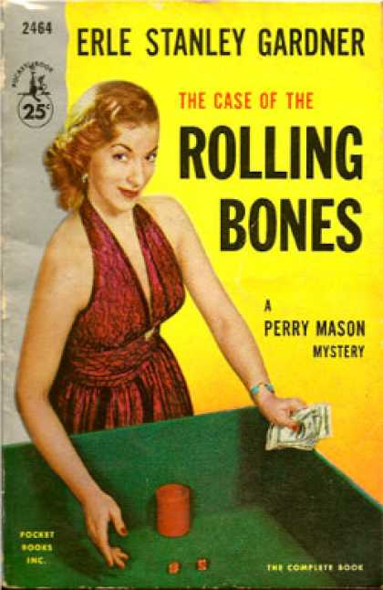Pocket Books - The Case of the Rolling Bones: A Perry Mason Mystery - Erle Stanley Gardner
