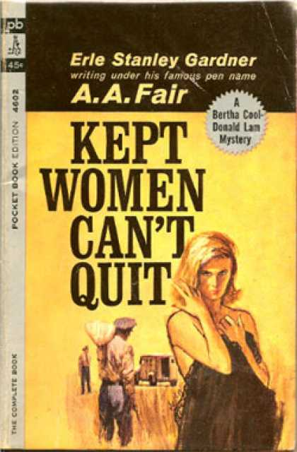 Pocket Books - Kept Women Can't Quit - A. A. Fair