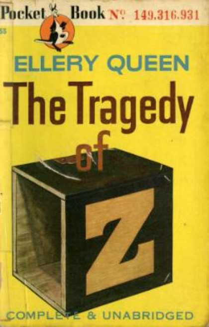 Pocket Books - The Tragedy of Z,: A Drury Lane Mystery - Ellery Queen
