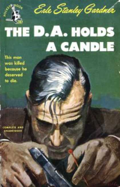 Pocket Books - The D.a. Holds a Candle (pocket Bk #287) - Erle Stanley Gardner