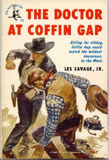 Pocket Books - The Doctor at Coffin Gap - Les Jr.. Savage