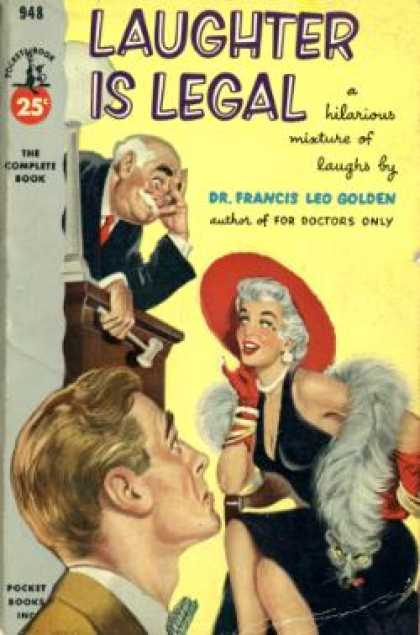 Pocket Books - Laughter Is Legal - Francis Leo Golden