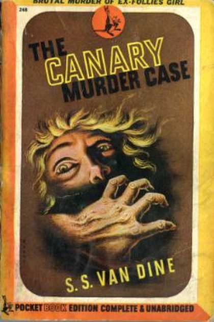 Pocket Books - The Canary Murder Case