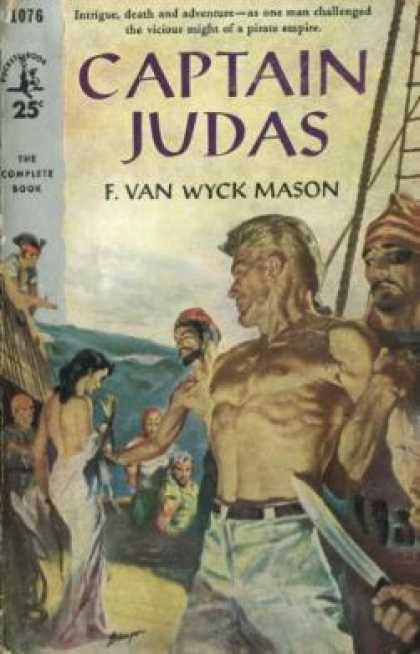 Pocket Books - Captain Judas - F. Van Wyck Mason