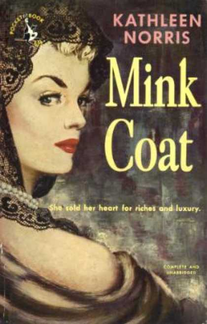 Pocket Books - Mink Coat - Kathleen Thompson Norris