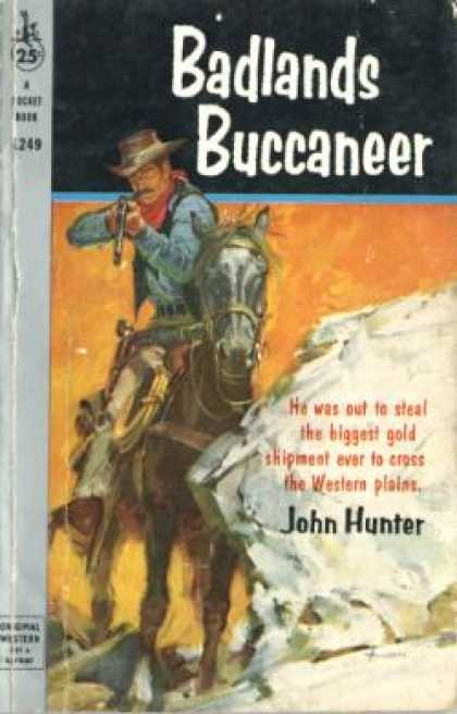 Pocket Books - Badlands Buccaneer