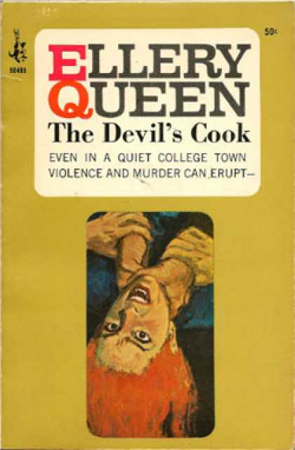 Pocket Books - The Devil's Cook - Ellery Queen