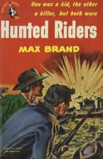 Pocket Books - Hunted Riders