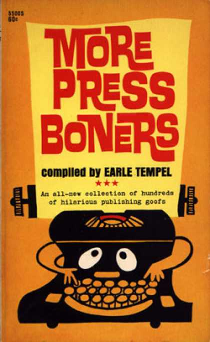 Pocket Books - More Press Boners