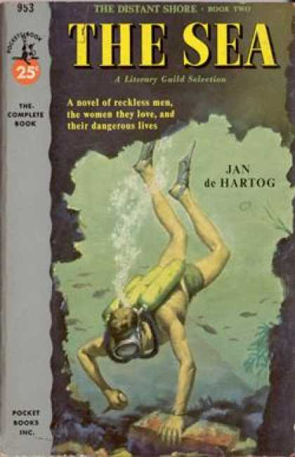 Pocket Books - The Sea: The Distant Shore--book Two - Jan De Hartog