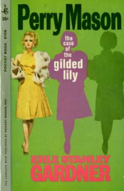 Pocket Books - The Case of the Gilded Lily - Erle Stanley Gardner